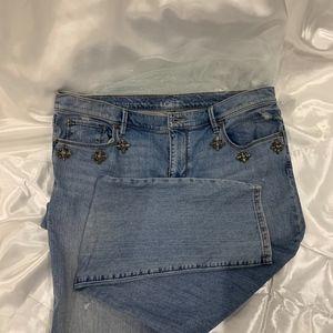 Ann Taylor Loft Blue Jeans